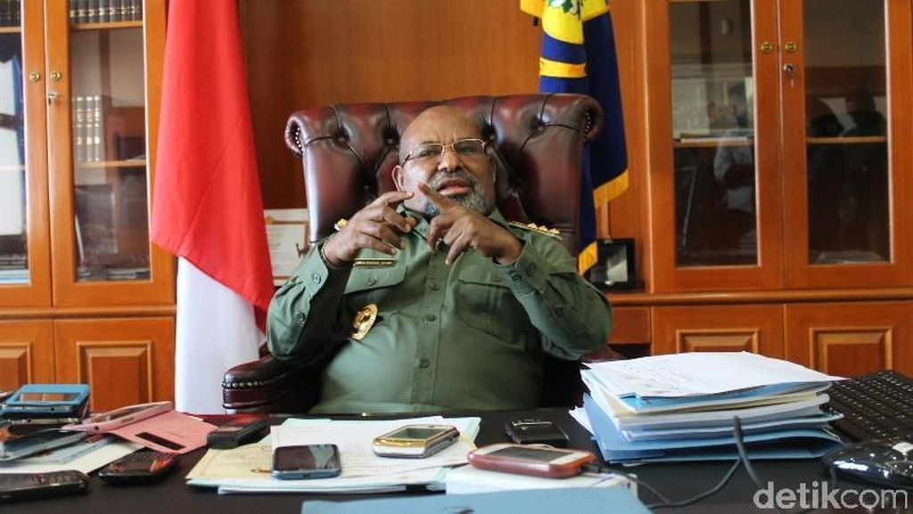 Gubernur Papua: Kami ini Indonesia, Tidak Ada yang Minta Merdeka