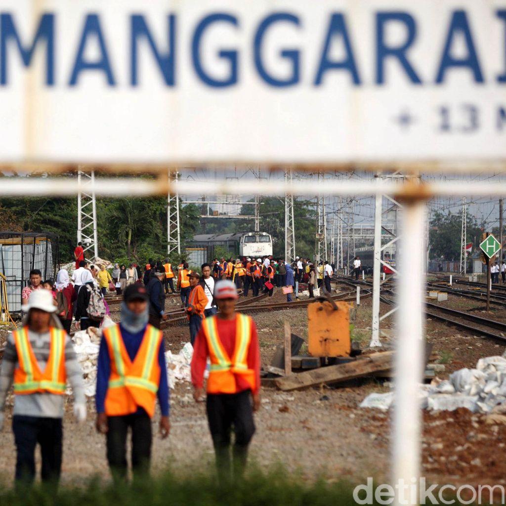 PT KCJ: Renovasi Stasiun Manggarai Jadi 3 Lantai Solusi Antrean Commuter Line