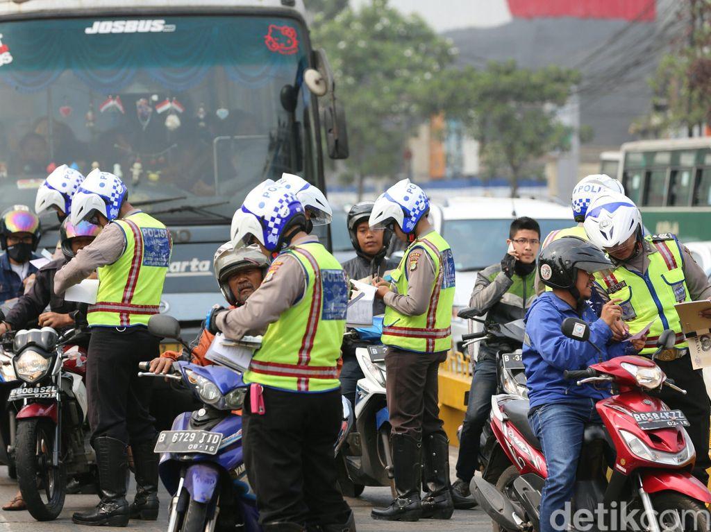3 Ribu Pengendara Bandel Kena Tilang di Jakarta Setiap Harinya
