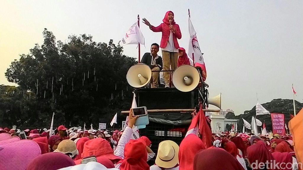 Bidan yang Demo di Istana akan Diangkat Jadi PNS, Takbir Menggema