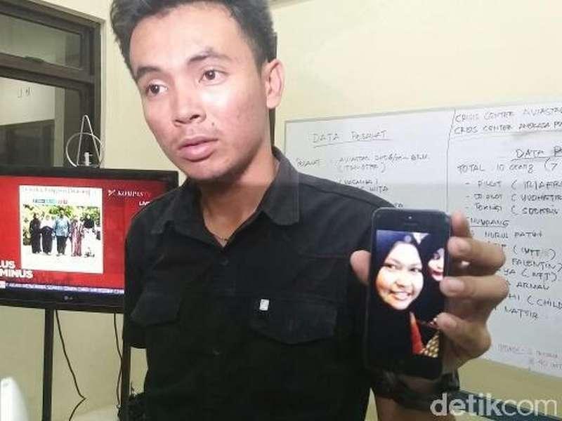 Terima Kabar soal Nasib Pesawat, Ortu Nurul Fatimah: Kami Ikhlas