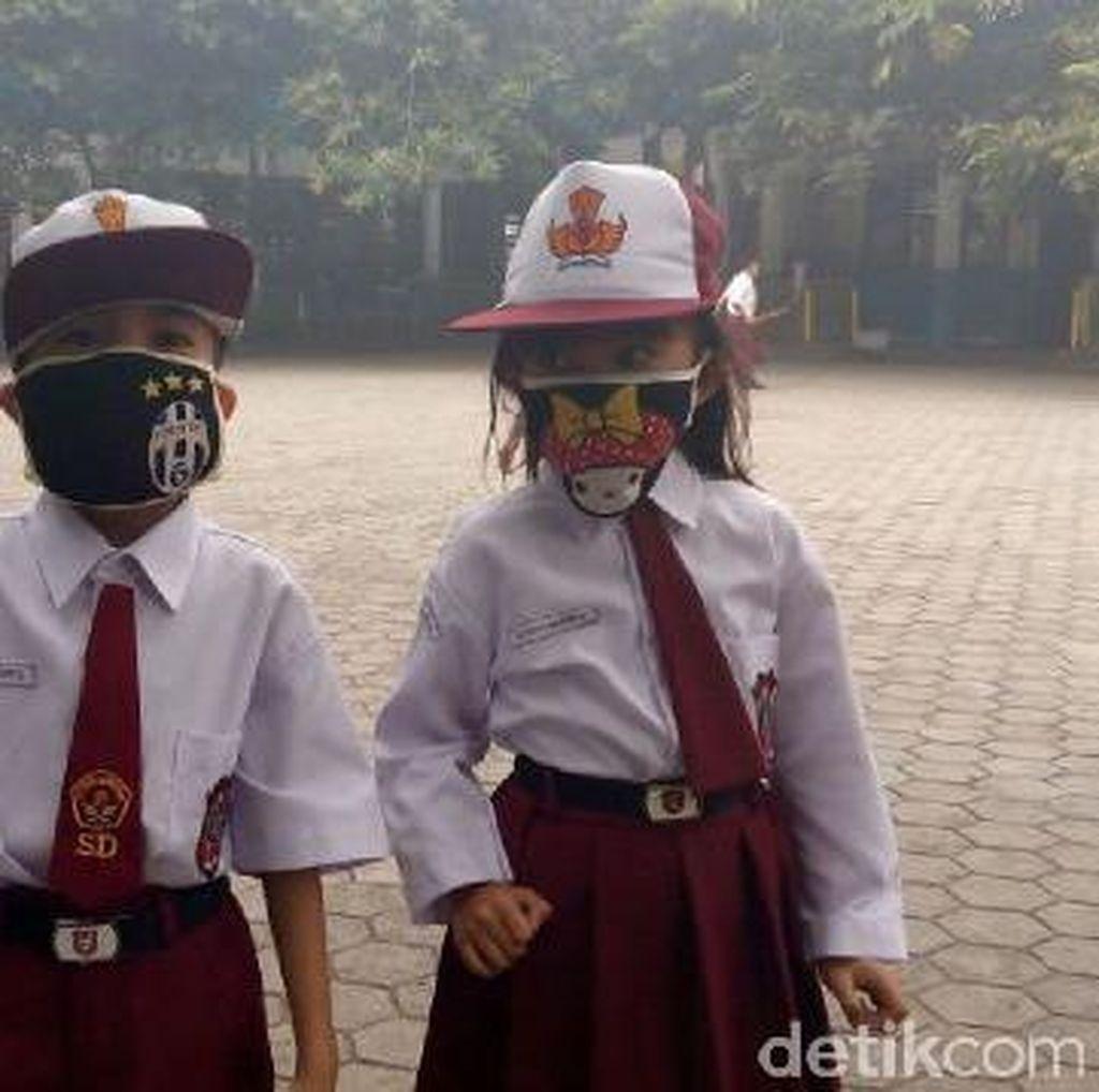Kabut Asap Makin Berbahaya, Masker Kiriman Pemerintah akan Diganti?