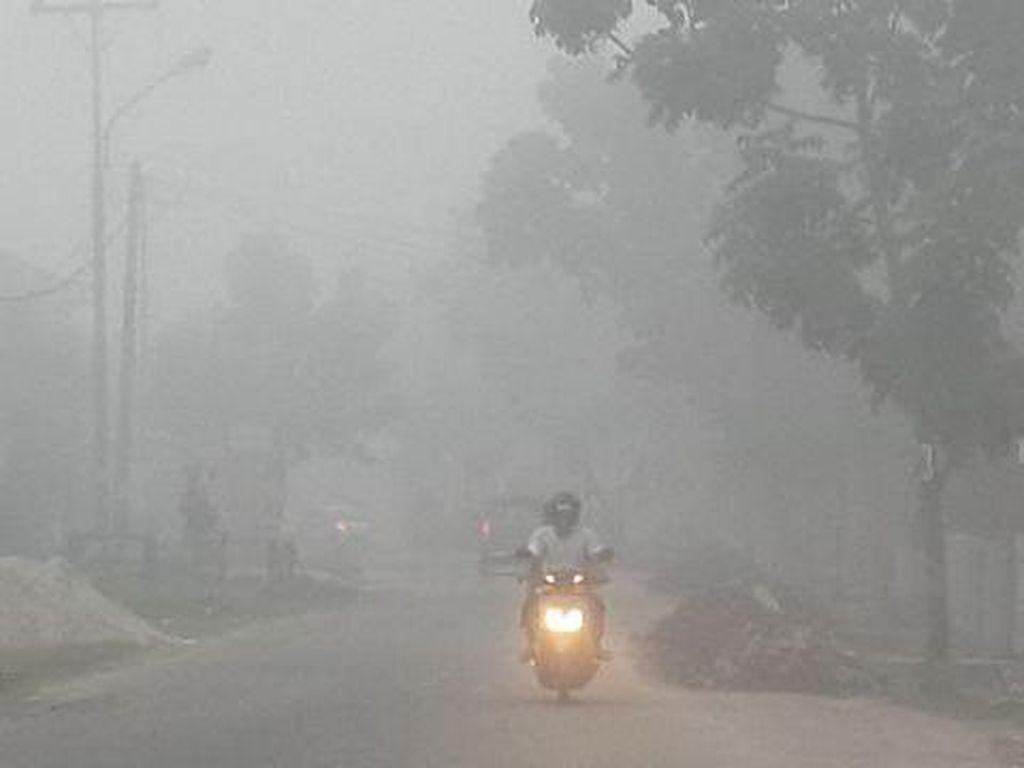 Suara Warga Korban Kabut Asap: Kami Rindu Udara Segar!