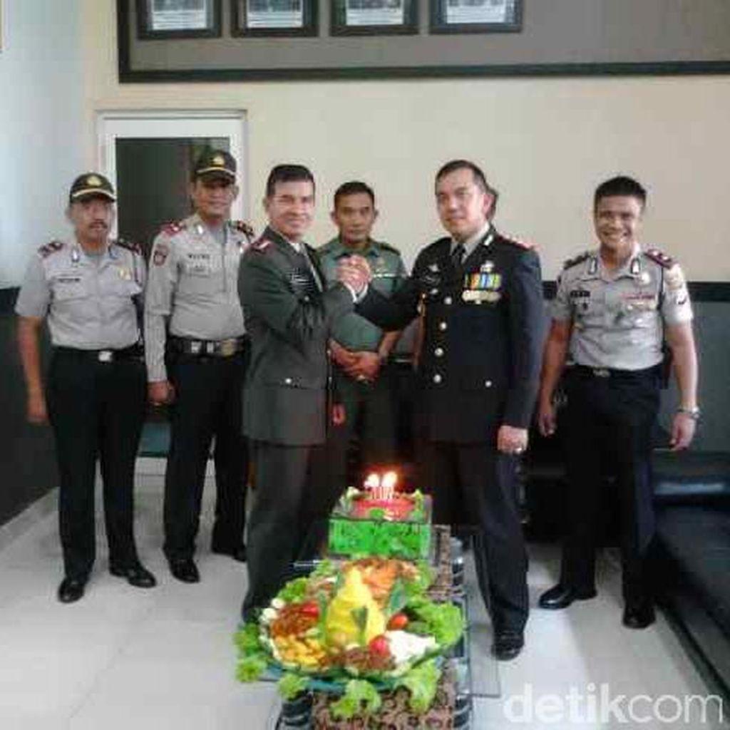 Damai itu Indah! Begini Keakraban TNI-Polri di Tangerang