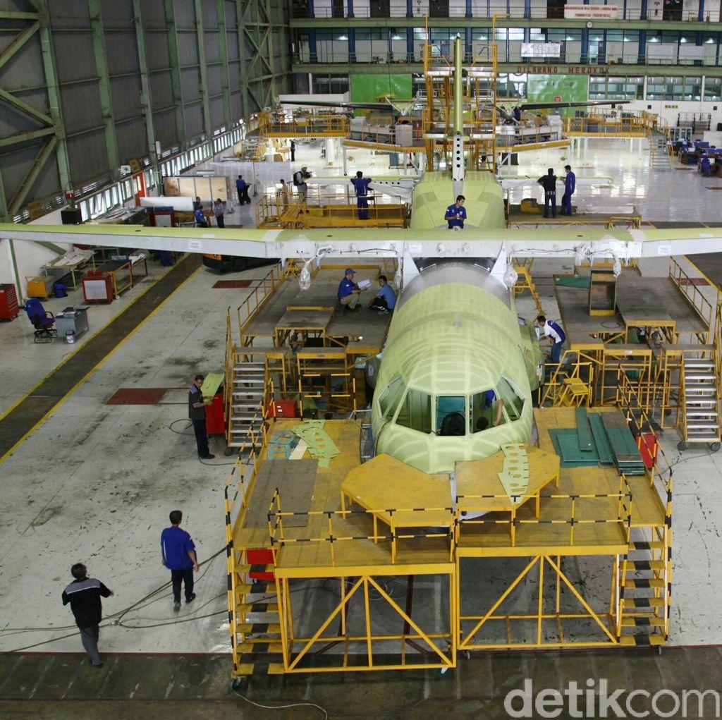 Cerita Dirut PTDI, Bikin Pesawat Perintis Tanpa Bantuan Tenaga Asing