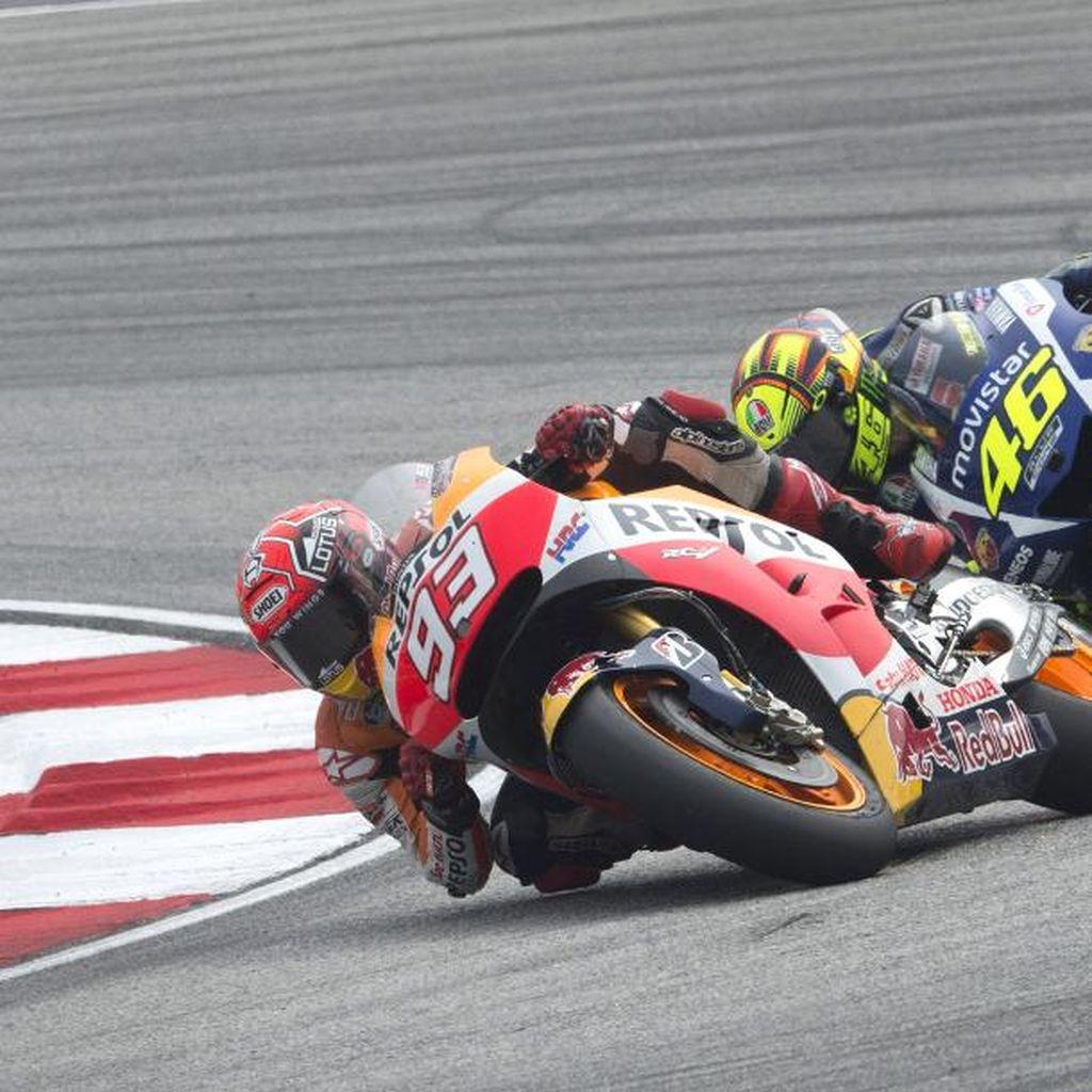 Setahun Setelah Insiden Rossi vs Marquez di Sepang