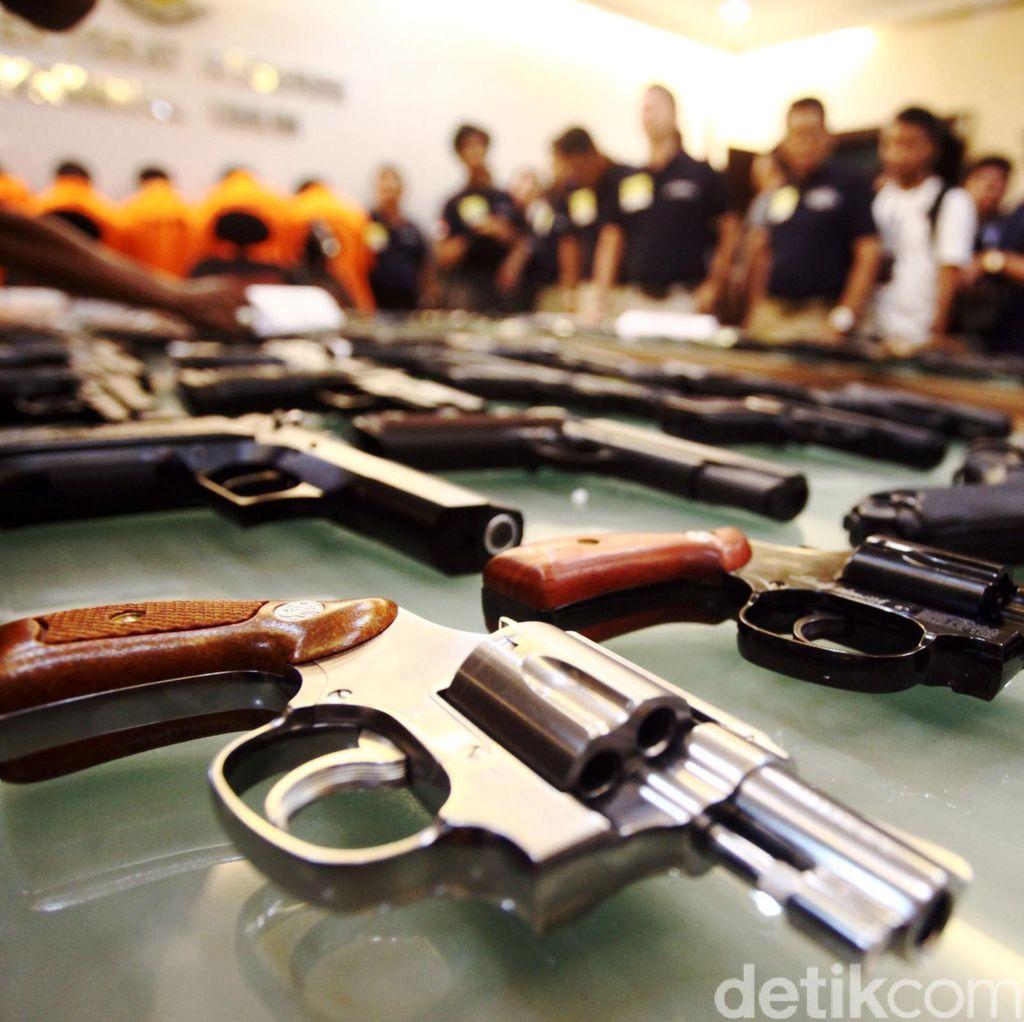 Antisipasi Kejahatan Bersenpi, Polda Metro Gelar Operasi Senjata