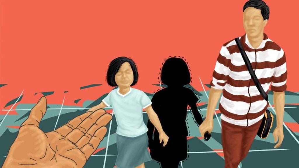 Waspada Modus Baru Penculikan Anak, Pelaku Pura-pura Jadi Driver Ojek Online