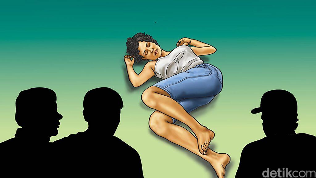 Seorang Gadis di Kota Banjar Diperkosa Ramai-ramai di Samping Gedung Dewan