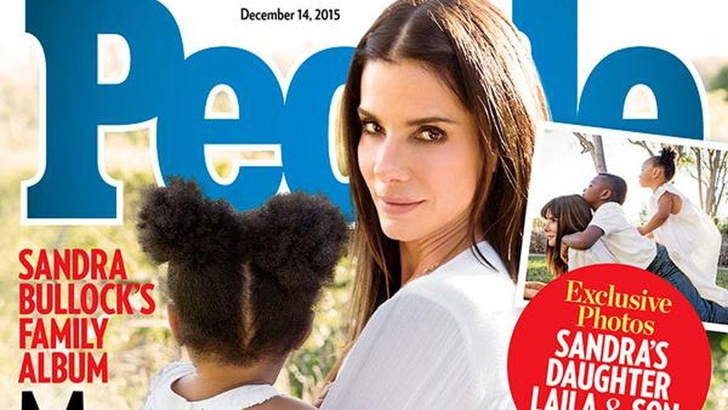 Sandra Bullock Adopsi Anak Perempuan Bernama Laila