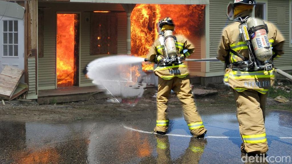 Keluarga yang Tewas dalam Kebakaran di Lippo Karawaci Terkunci Teralis Rumah