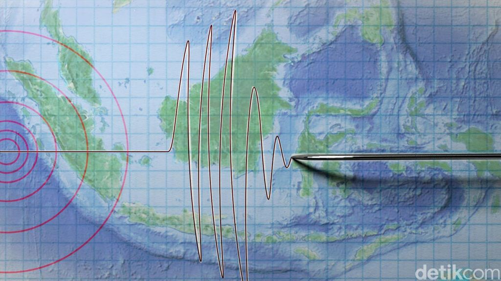 Gempa 6,1 SR Guncang Tenggara Bitung Sulut