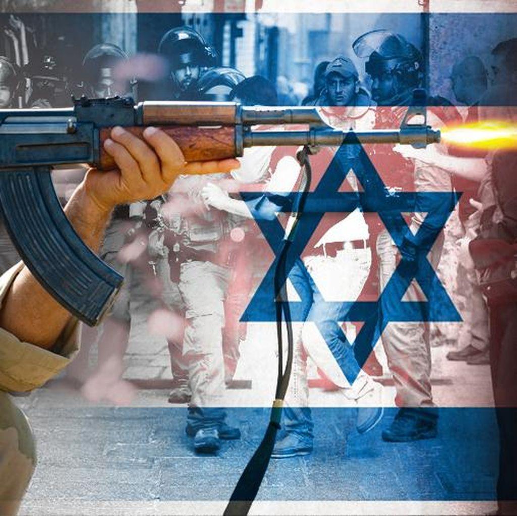 Coba Tikam Polisi Israel di Yerusalem, Wanita Palestina Ditembak Mati