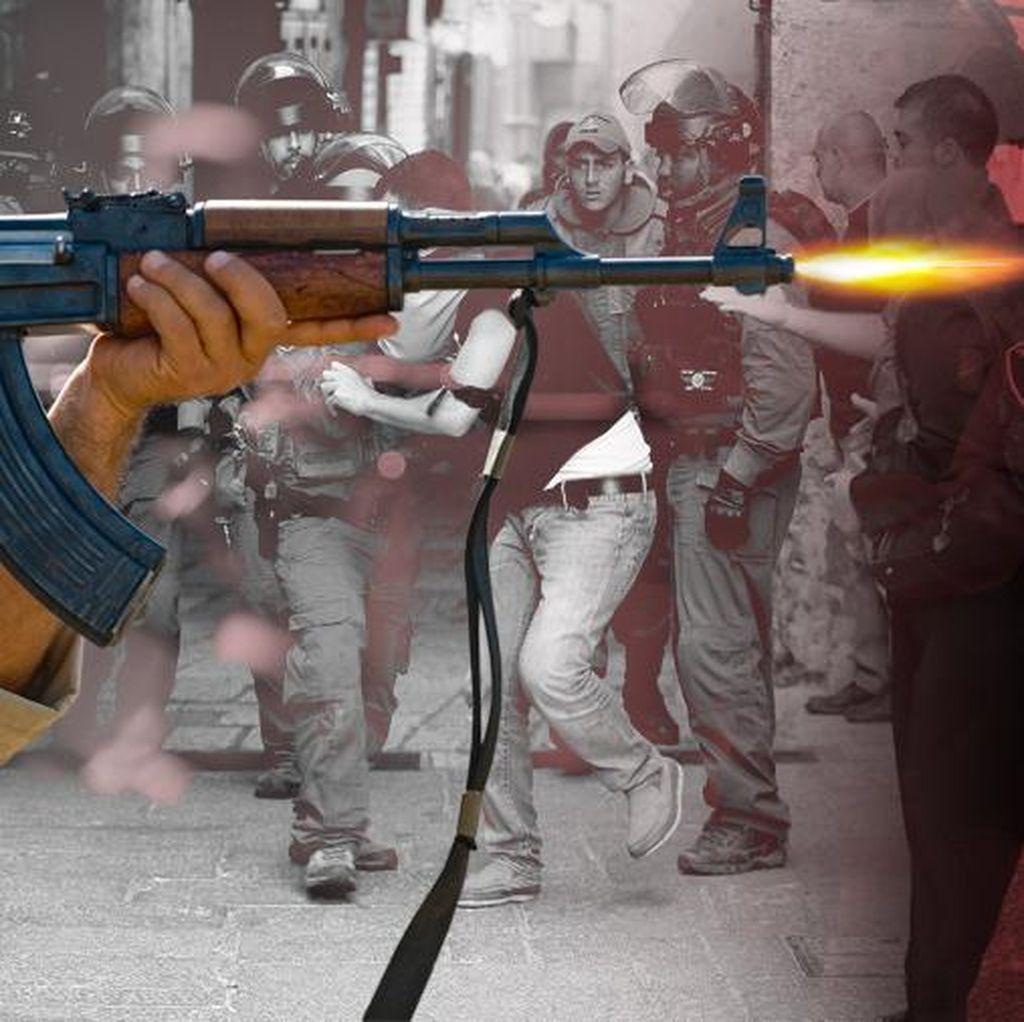 Tabrakkan Mobil ke Tentara Israel, Pria Palestina Ditembak Mati