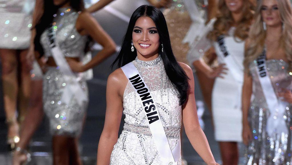 Aksi Anindya Kusuma Putri di Miss Universe 2015