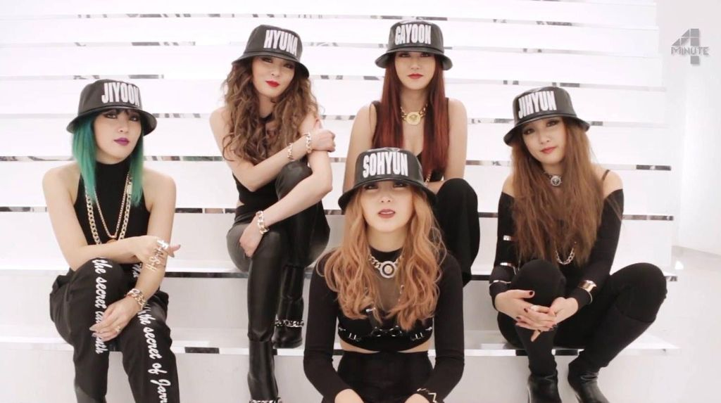 4Minute Isyaratkan Bubar Sejak Rilis Album Act. 7