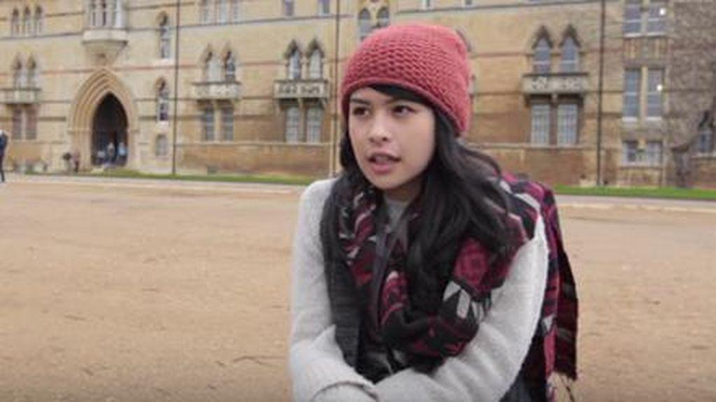Maudy Ayunda Berbagi Pengalaman Kuliah di Oxford