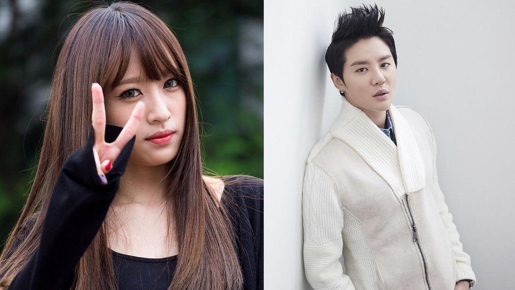 Fans Kesal Junsu JYJ dan Hani EXID Terlalu Pamer Kemesraan