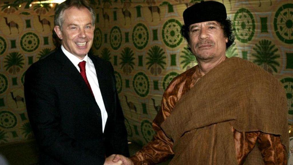 Eks PM Inggris Minta Khadafi Mengungsi Saat Kerusuhan Libya Tahun 2011