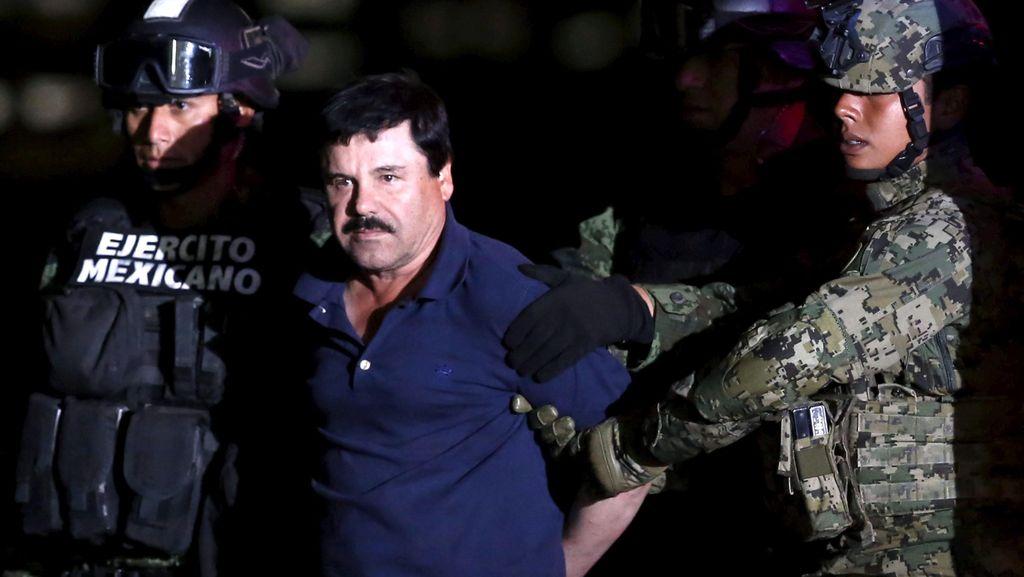 Meksiko Ingin Ekstradisi El Chapo ke AS Januari 2017