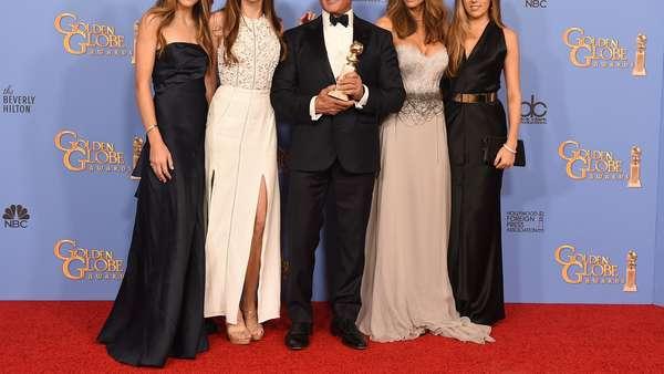 Sylvester Stallone Dikelilingi 3 Putrinya yang Cantik