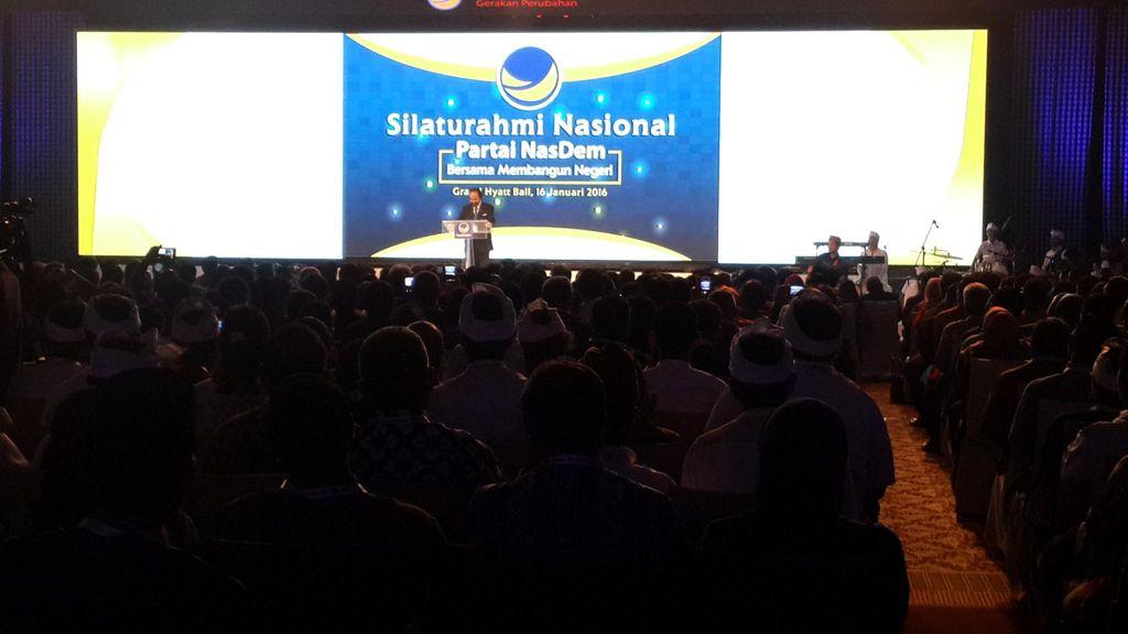 Sejumlah Menteri Hadiri Silatnas Pemenang Pilkada Usungan Nasdem