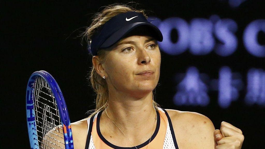 Hukumannya Dikurangi, Sharapova Bisa Main Lagi April 2017