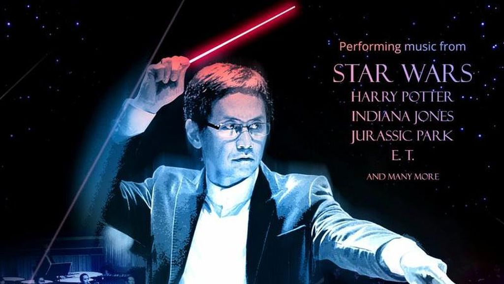 Addie MS Gelar Konser Orkestra Musik Star Wars Hingga Jurrasic Park