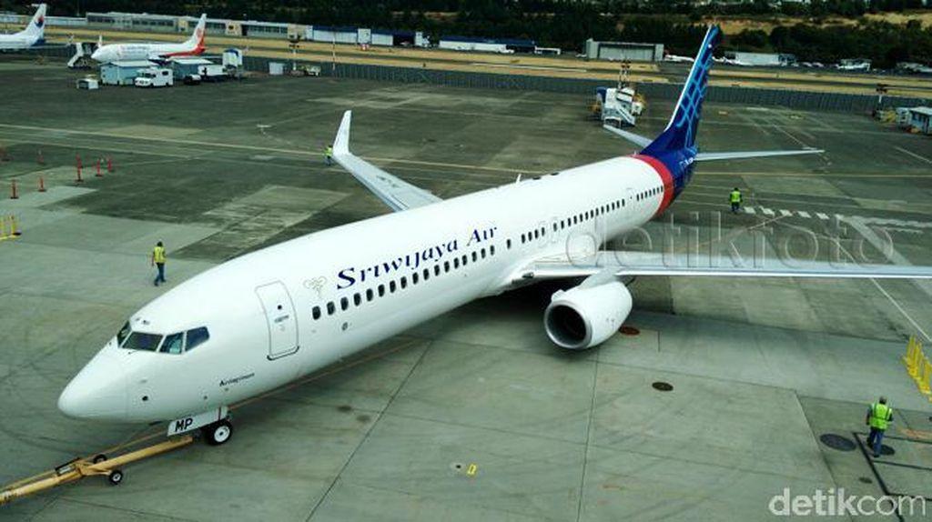 Dua Pesawat Sriwijaya Air Bergesekan Sayap di Bandara Soekarno-Hatta