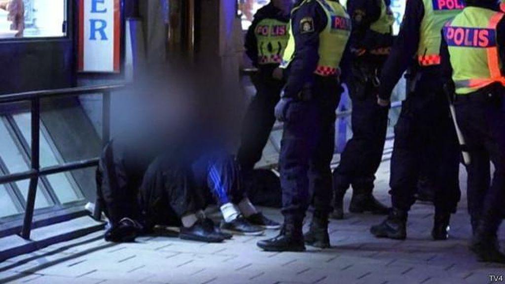 Geng Bertopeng di Swedia Menargetkan Serangan ke Imigran