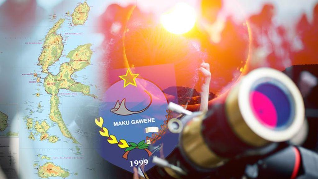 Hore! Persiapan Live Streaming Gerhana dari Ternate Sudah 100 Persen