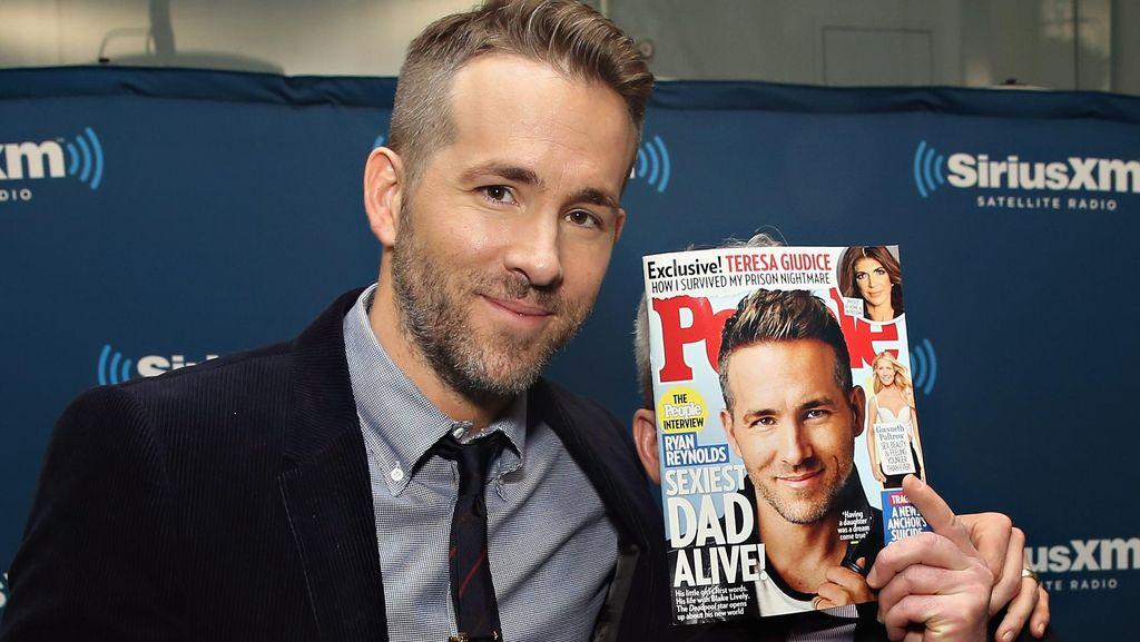 Ryan Reynolds Ingin Punya 9 Anak Perempuan