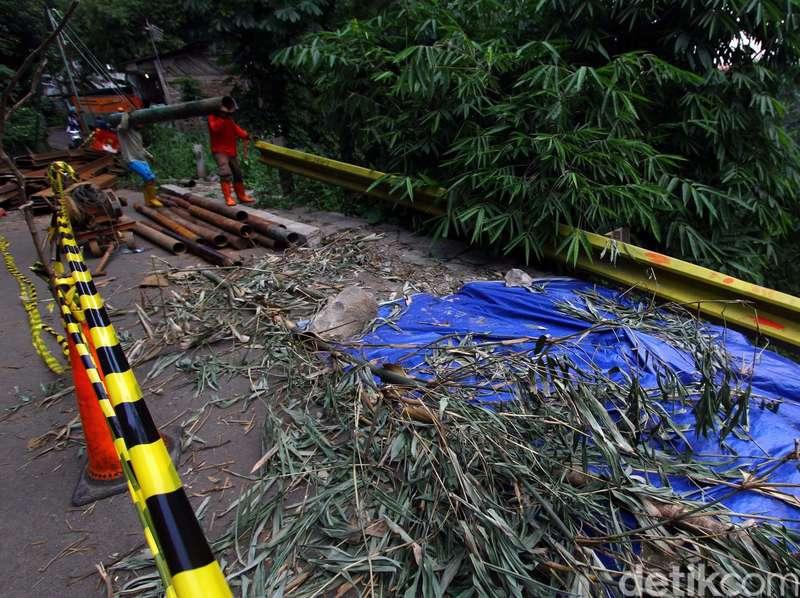 Banjir dan Longsor Terjadi di Kismantoro Wonogiri