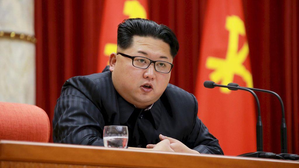 Kim Jong Un Klaim Uji Coba Rudal Balistik Korut Sukses Besar