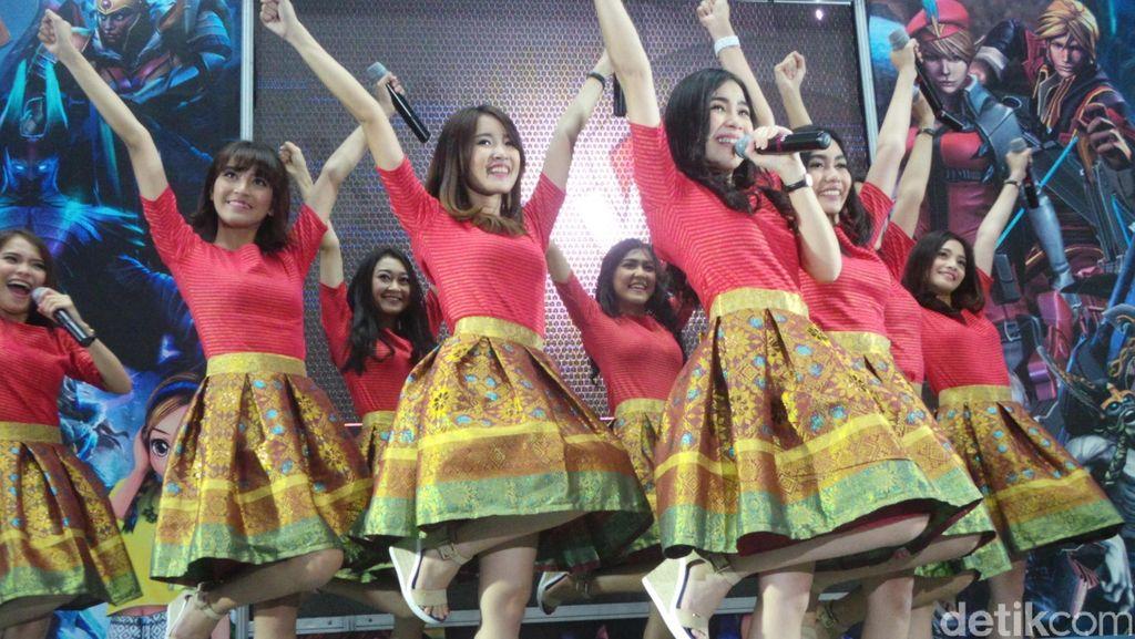 Cherrybelle Formasi Baru Sukses Taklukkan Ujian Panggung Semarang