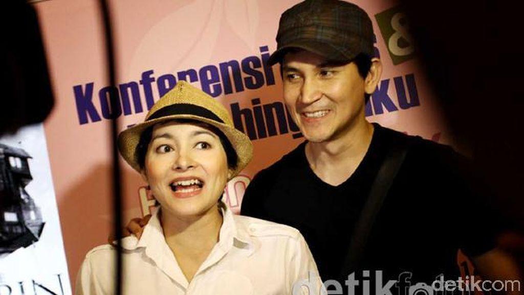 Dewi Rezer dan Marcellino Lefrandt Bersatu Kembali di Ultah Anak