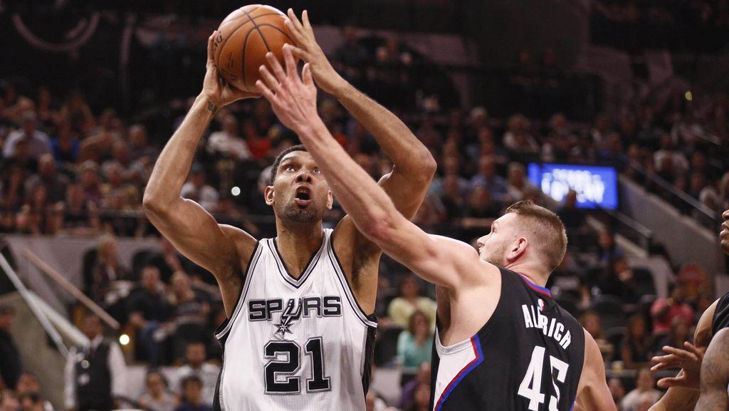 Libas Clippers, Spurs Lanjutkan Rentetan Kemenangan Kandang