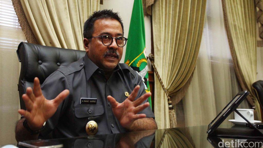 Rano Karno: Saya Melanjutkan Program Infrastruktur di Banten