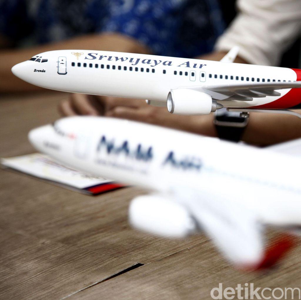 Sriwijaya Air Group Kurangi Rute dan Frekuensi Atas Permintaan Sendiri