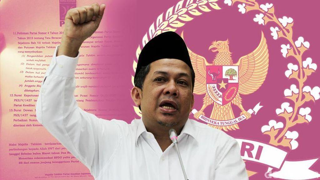 DPP PKS: Fahri Harus Menerima Pemecatan dan Minta Maaf ke Seluruh Kader