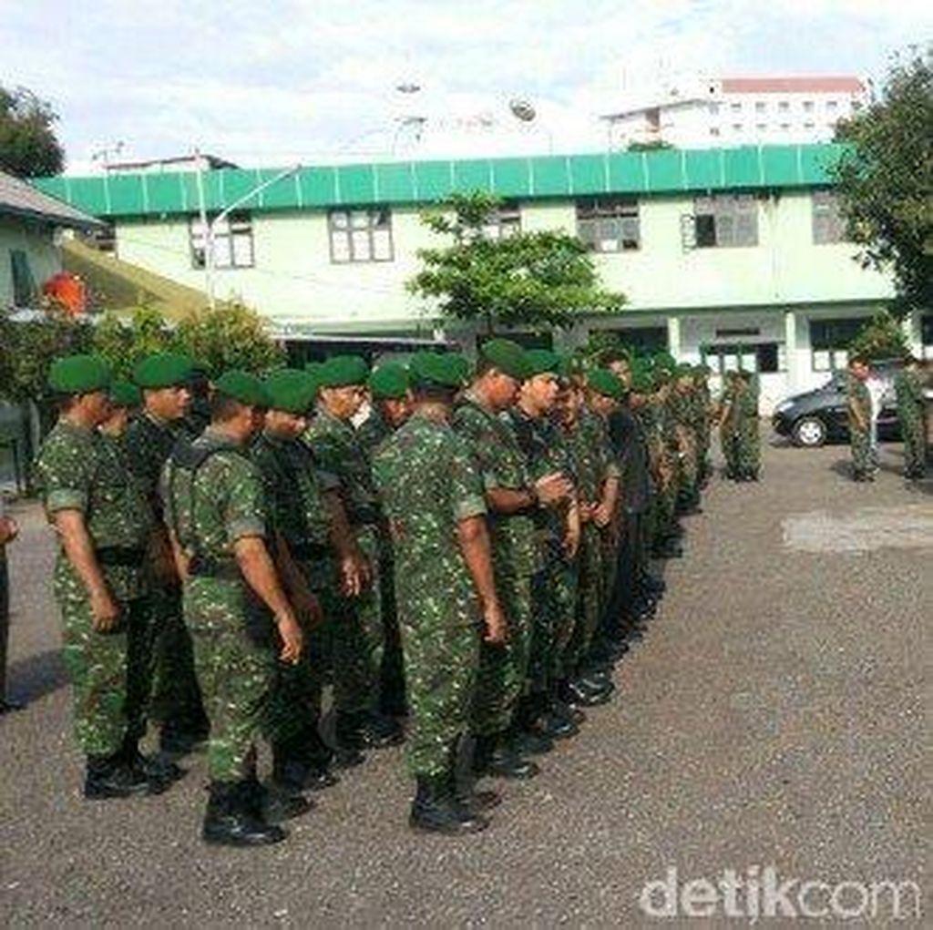 Kodim 0832 Kerahkan Personil, Amankan Pilkades Bangkalan Tahun 2016