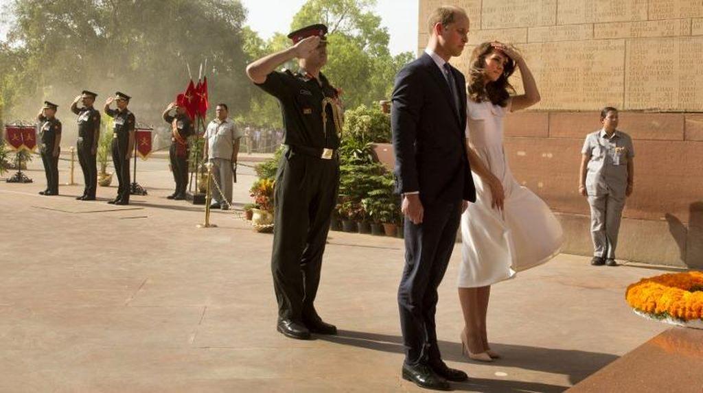 Pajang Foto Kate Middleton dengan Rok Tersingkap, Media India Dikritik