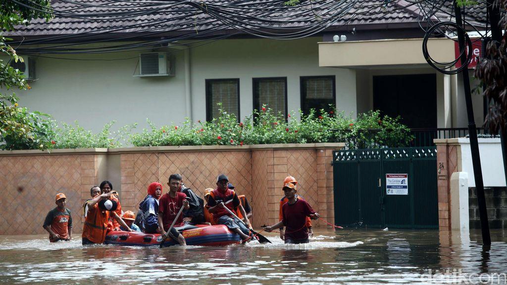 Jakarta Diguyur Hujan Deras, ini Penjelasan BMKG Soal Kondisi Cuaca