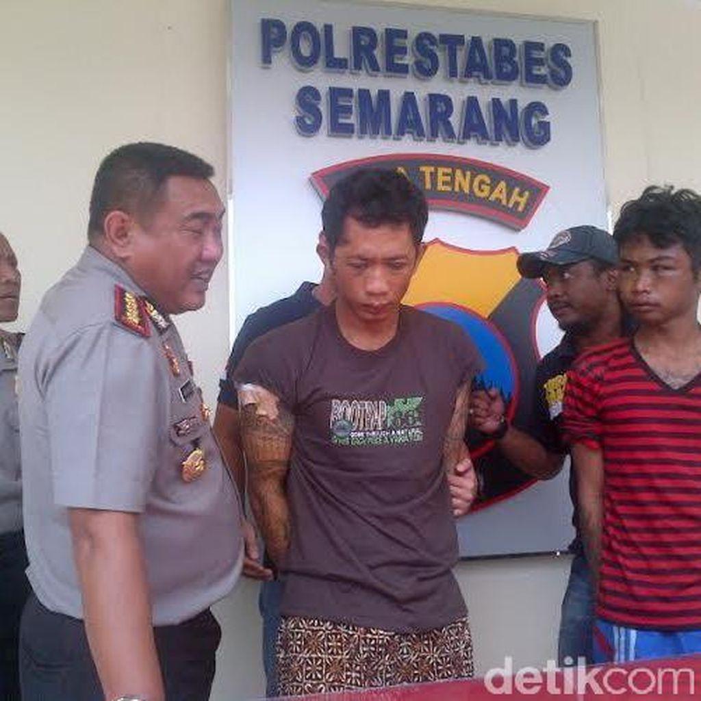 Pengedar Pil Koplo di Semarang Tusuk Pelanggannya Hingga Tewas