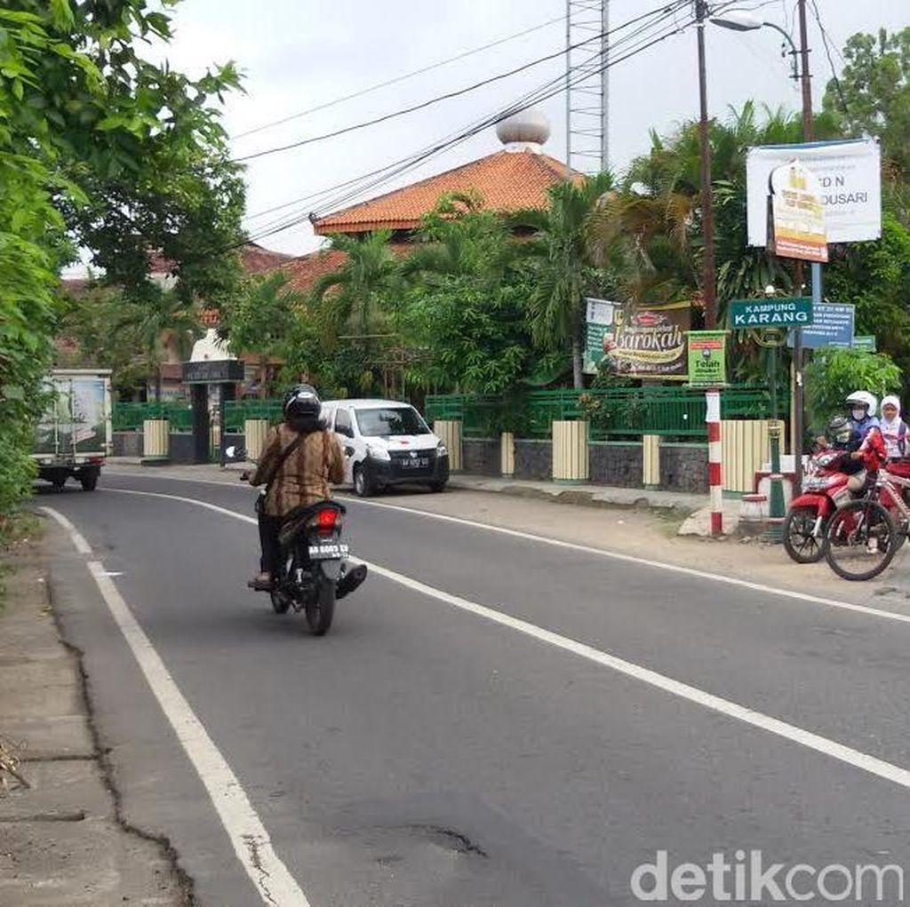 Polisi Bikin Sketsa Wajah Pelaku Teror Penyayatan di Yogyakarta