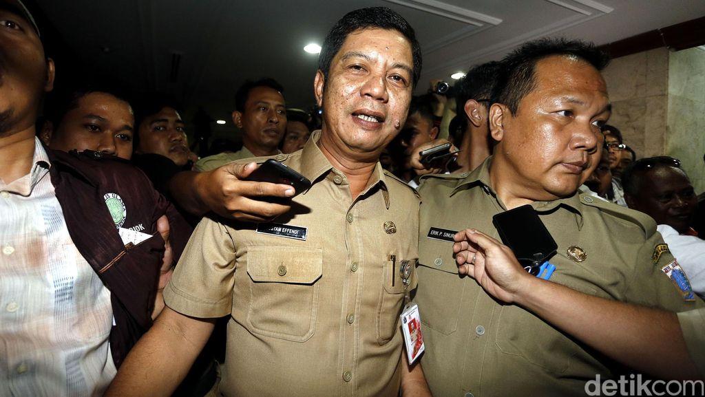 Eks Walkot Rustam Effendi Sampaikan Permintaan Maaf saat Mengundurkan Diri