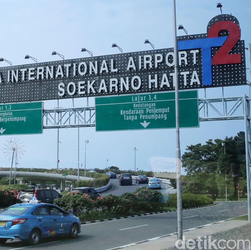 Ada Lonjakan Penumpang, Polisi Perketat Pengamanan di Bandara Soekarno-Hatta