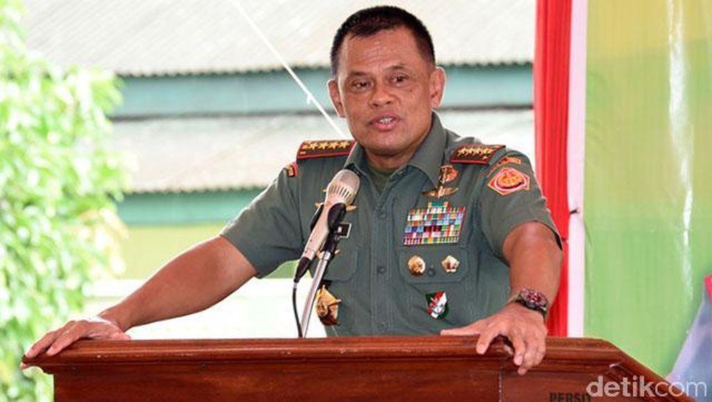 Panglima TNI Kaji Konsep Kerja Sama Pengamanan Laut dengan Malaysia-Filipina