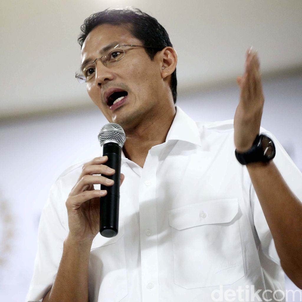 Sandiaga Uno: Saya Optimis Dipilih Prabowo, Tapi Ikhlas Kalau Belum Dipilih