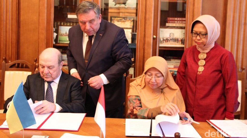 Indonesia Jalin Kerjasama Pendidikan dengan Ukraina
